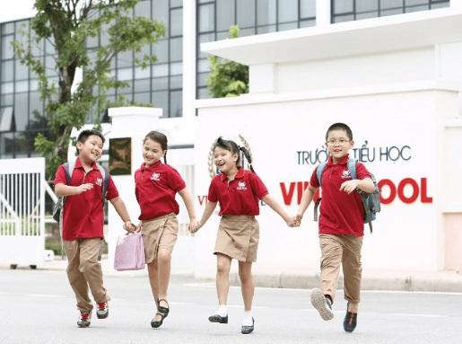 Sở hữu căn hộ A3, gia đình sẽ an tâm gửi gắm các cư dân nhí cho Vinschool – thương hiệu giáo dục chất lượng cao của Tập đoàn Vingroup.