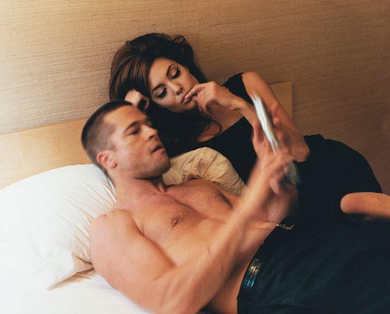 Đã có một thời Angelina từng cảm thấy mặn nồng với Brad Pitt.