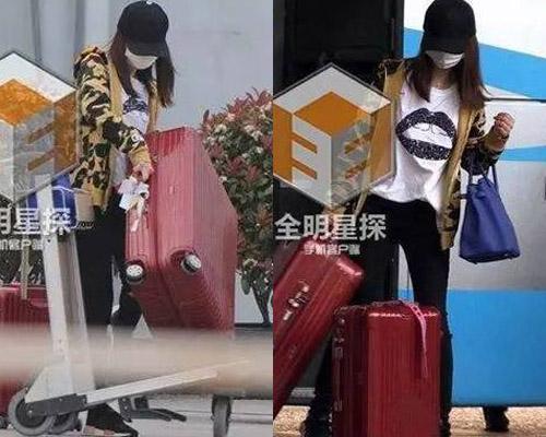 Lâm Tâm Như tự xách vali khỏi xe đẩy, thậm chí dịch chuyển đồ đạc mà không có ai trợ giúp. Việc cô đào đơn thương độc mã suốt thời gian sau khi kết hôn khiến không ít người đặt dấu hỏi.