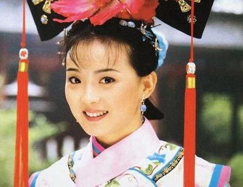 Vương Diễm trong vai Tịnh Nhi cách cách