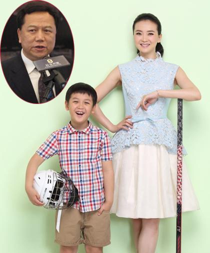 Vương Diễm đang hưởng thụ cuộc sống giàu sang phú quý bên chồng và con trai