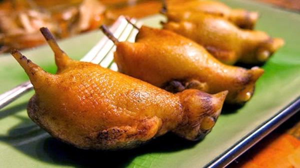 Họa mi nướng là món ăn vô cùng xa xỉ của giới nhà giàu (Ảnh: Mask).