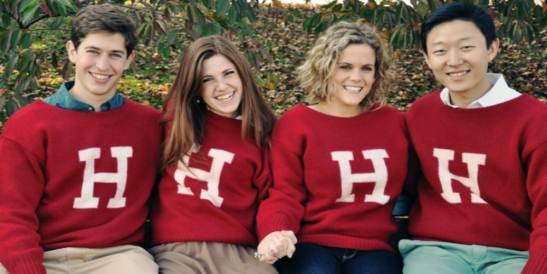 Sinh viên ĐH Harvard (Ảnh từ internet)