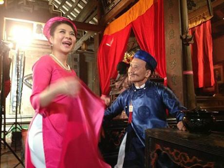 """Điều thú vị là dù đóng cặp với nữ diễn viên nào, nghệ sĩ Phạm Bằng cũng mang tính cách """"sợ vợ"""" ngoài đời thực của mình vào nhân vật khiến người xem cảm thấy vô cùng gần gũi, đồng cảm."""