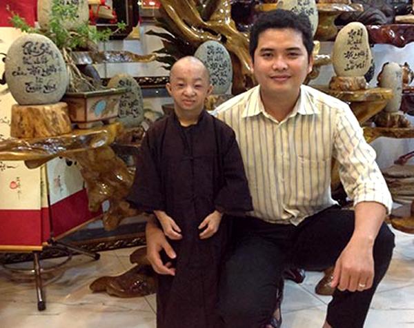 Duy Phương và anh trai đang là kỹ sư tin học. Ảnh: Ngọc Thiện - CSTC