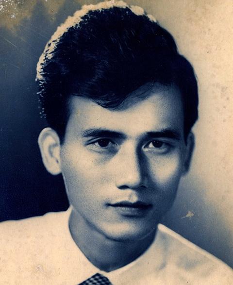 Nghệ sĩ Phạm Bằng thời trẻ.