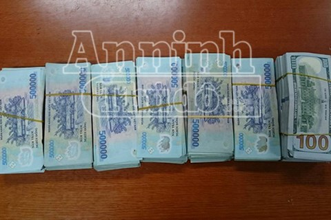 Số tiền 1,6 tỷ mà đối tượng trộm cắp