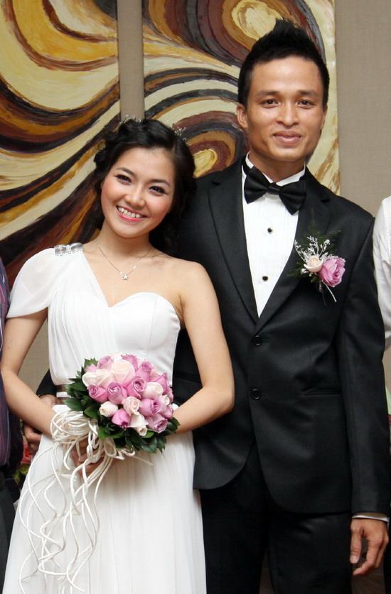 Ca sĩ Thanh Ngọc kết hôn năm 2011