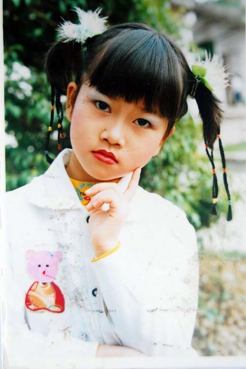 Lê Thiện Hiếu khi còn là cô bé Lê Phương Thảo