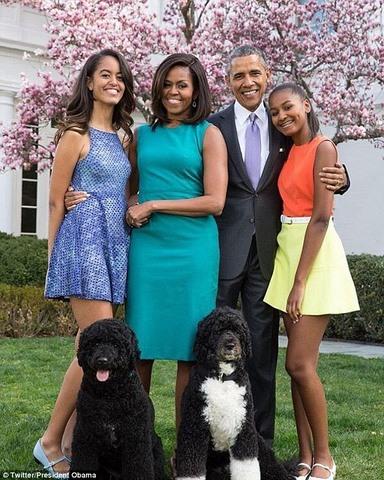 Gia đình Obama chỉ ở Washington 18 tháng nữa trước khi rời về California.