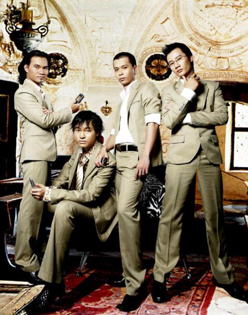 Thụy Vũ, Đình Bảo, Nam Khánh và Hoàng Bách thuở hoàng kim của AC&M.