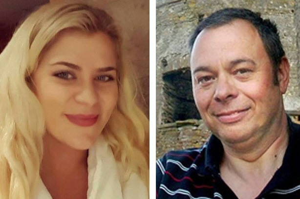 Peter Morgan, 54 tuổi, vị đại gia bất động sản đem lòng si mê cô nhân tình trẻ Georgina Symonds, 25 tuổi.