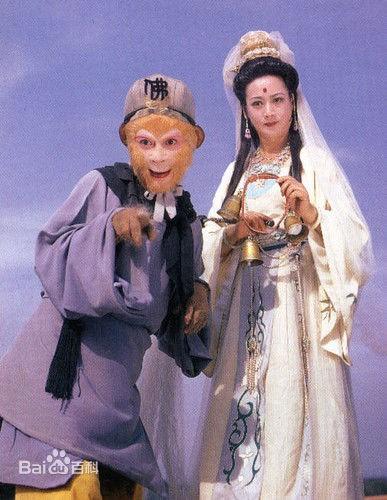 Tả Đại Phân vai Bồ Tát trong phim.