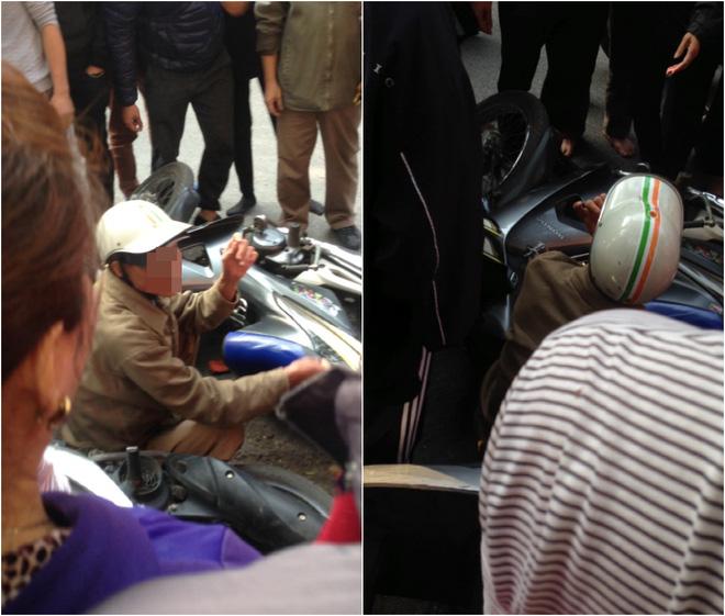 Nghe lý do đi trộm áo của cặp vợ chồng, người dân trên phố Hà Nội bỗng im lặng - Ảnh 1.