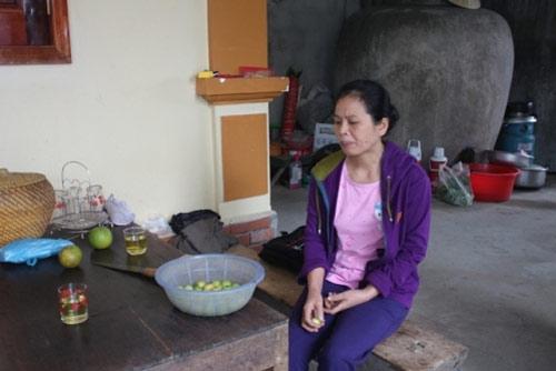 Chị Thanh mỗi ngày chỉ ăn hoa quả.