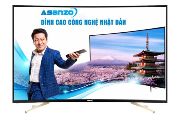 Asanzo đầu tư mang công nghệ hiện đại Nhật Bản vào sản phẩm sản phẩm Tivi LED màn hình cong ấn tượng với mức giá hấp dẫn