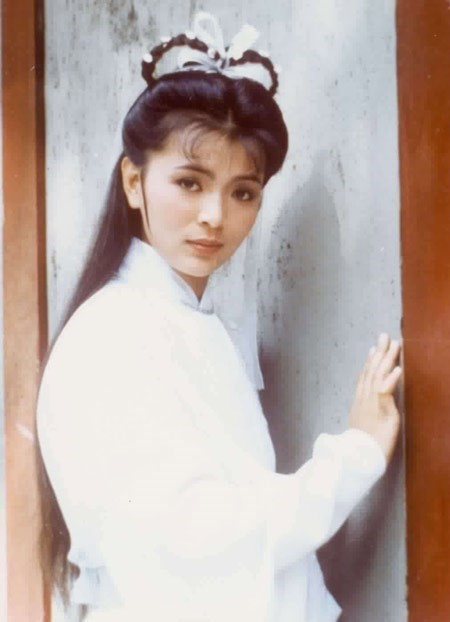 Trong mắt Lưu Đức Hoa, Trần Ngọc Liên là nữ thần khó với tới. Ảnh: Baidu.