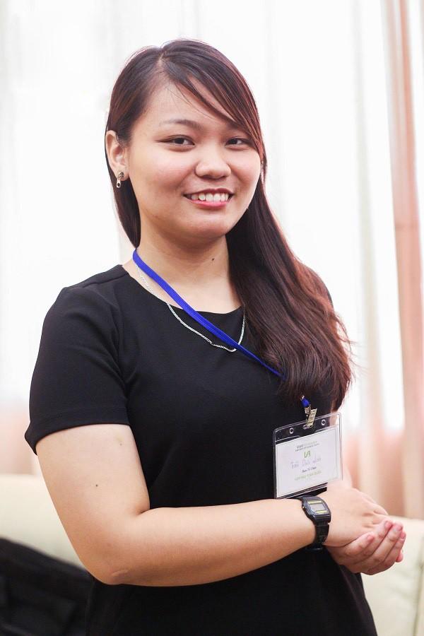 Trần Thị Diệu Liên - cô gái Việt nhận học bổng toàn phần Đại học Harvard. Ảnh: VietAbroader.