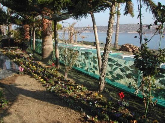 Nếu bạn sắp đặt chân đến Çeşme, hãy ghé qua ngôi nhà có hàng rào thiết kế độc đáo này, chắc chắn bạn sẽ phải để trái tim mình lại nơi đó và ra về trong tiếc nuối.