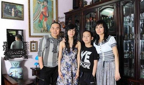 Gia đình Hoài Linh hiện đang sinh sống trong căn nhà ở Hà Nội.