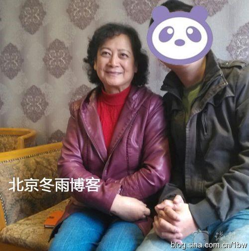 Quan Âm Bồ Tát khi ở tuổi ngoài 70. Bà chọn cách sống bình dị tại quê nhà.