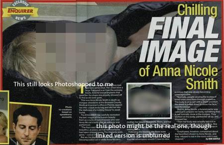 Anne Nicole Smith đột ngột qua đời.