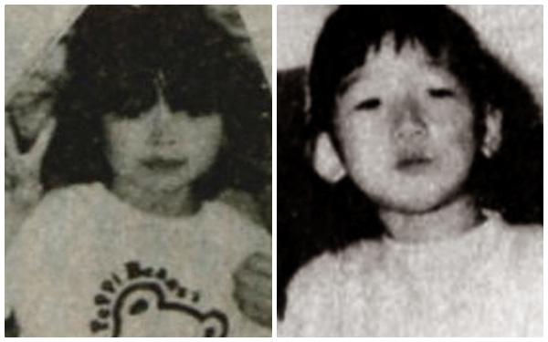 Nạn nhân Erika Namba (4 tuổi) và Ayako Nomoto (5 tuổi).