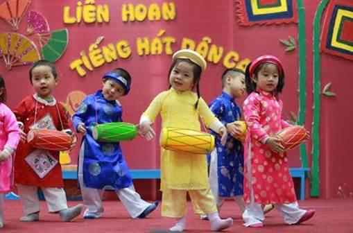 Chương trình vẫn tích hợp các nội dung văn hóa Việt Nam