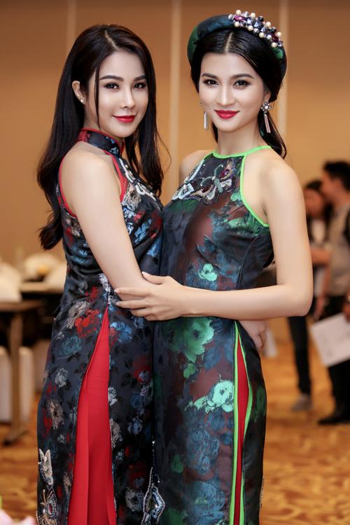 Diệp Lâm Anh đóng vai Kiều Nguyệt Nga còn Kim Tuyến hóa thân nàng Mộng Nga trong phim điện ảnh hành động, hài Lục Vân Tiên - Tuyệt đỉnh Kungfu.