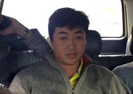 Nghi can Nguyễn Hoàng Tâm gây ra vụ cướp tại một Chi nhánh ngân hàng ở Huế đã bị bắt. Ảnh: C.A