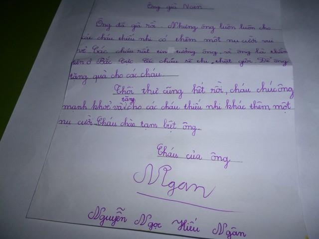 Dịp Noel trẻ em khắp nơi viết tâm thư gửi Ông già Noel. Ảnh minh họa: TL