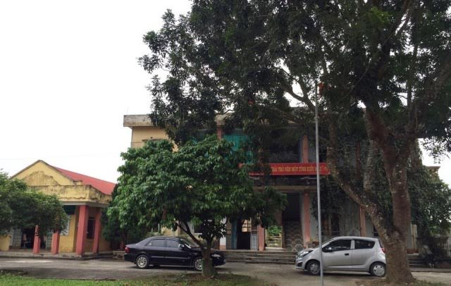 Công sở xã Xuân Tân, nơi ông Lê Văn Khâm làm Bí thư Đảng ủy xã
