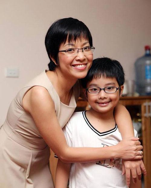 Thảo Vân hạnh phúc bên con trai - niềm vui mỗi ngày của cô