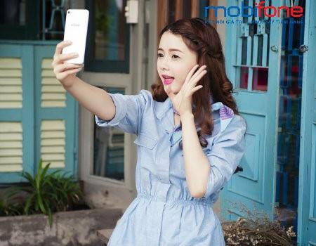 Gói Facebook data giúp thuê bao MobiFone selfie, check-in Facebook không lo tốn tiền
