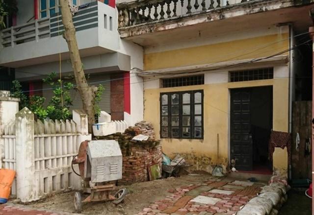 Ngôi nhà của nạn nhân. Ảnh: PV