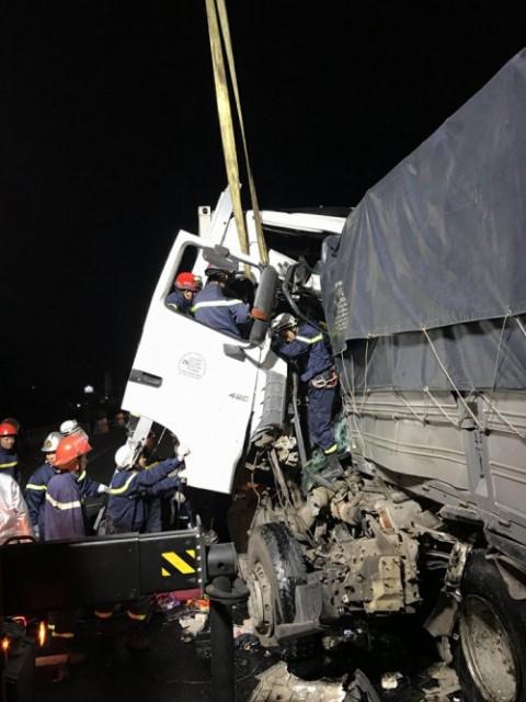 Vụ tai nạn khiến hai người tử vong. Ảnh: PV