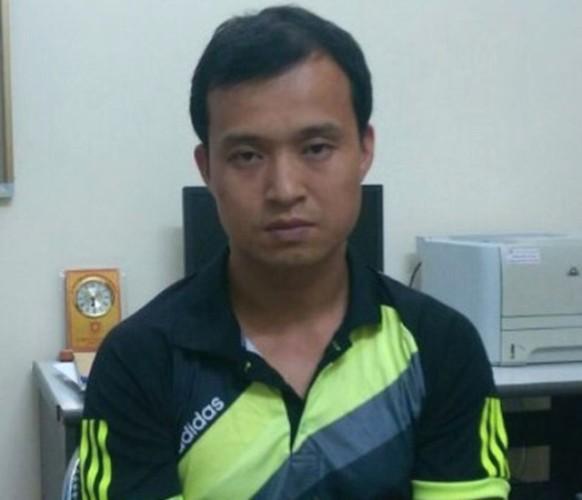 Đối tượng Tường người Trung Quốc bị bắt giữ. Ảnh: (Cơ quan Công an cung cấp)