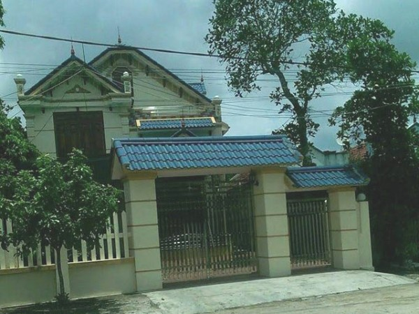 Căn nhà của đối tượng Th. ở xã Hải Đông (TP. Móng Cái). Ảnh: Q.Nguyễn