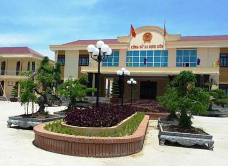 Trụ sở UBND xã Định Liên, nơi ông Sỹ làm chủ tịch xã với hàng loạt sai phạm