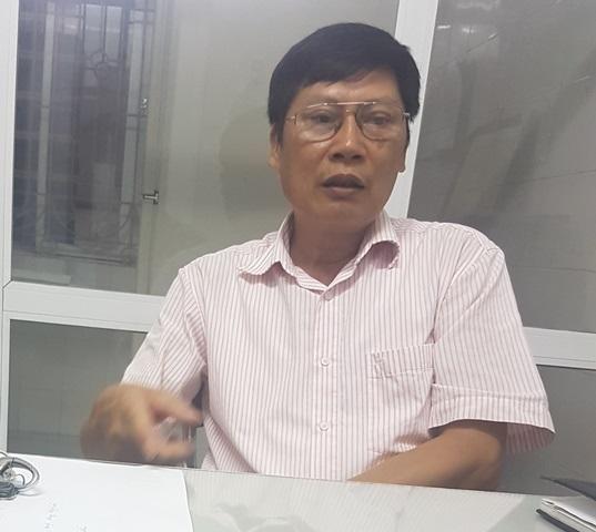 Bác sĩ Tạ Văn Cẩm, Phó trưởng khoa Xét nghiệm - Trung tâm Y tế dự phòng tỉnh Hải Dương. Ảnh: PV