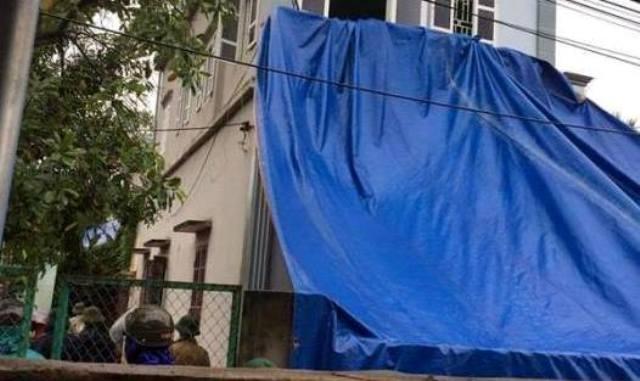 Ngôi nhà nơi xảy ra vụ án mạng. Ảnh: CTV