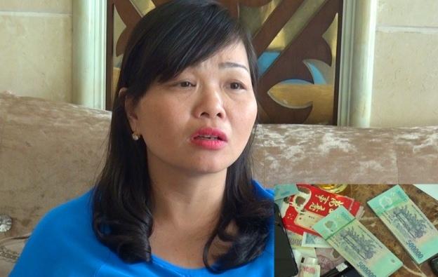 Đối tượng Lê Thị Mai Hương và tang vật vụ án
