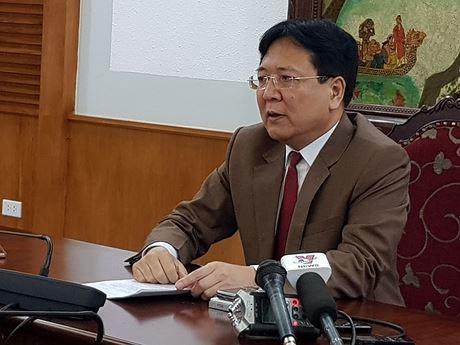 Thứ trưởng Vương Duy Biên trả lời báo giới