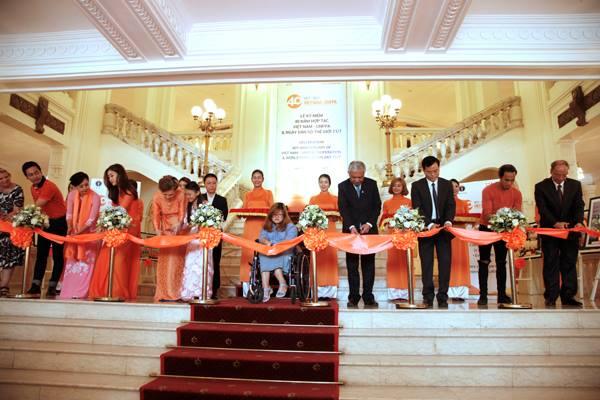 Lễ cắt băng kỷ niệm 40 năm quan hệ hợp tác Việt Nam - UNFPA