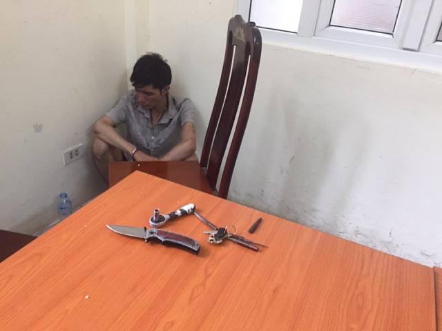 Đồ nghề Trịnh Hùng Anh mang theo để đi cướp tài sản.