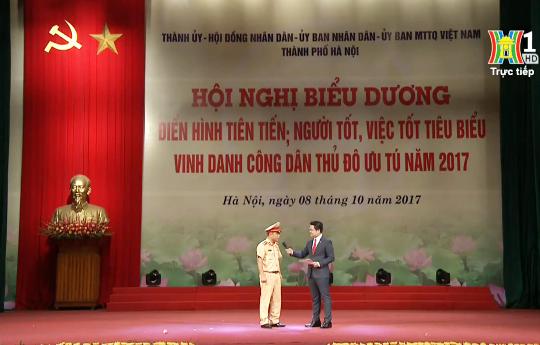 Đại úy Nguyễn Tuấn Cường - Phó đội trưởng Đội CSGT số 2 - PC67 - Công an TP. Hà Nội