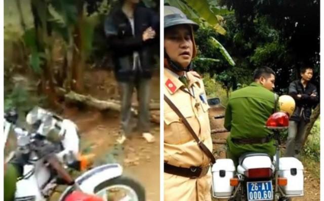 Dân chặn xe CSGT đòi đóng tiền BOT thôn mới cho qua