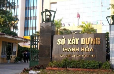 Sở Xây dựng Thanh Hóa, nơi xảy ra hàng loạt các sai phạm khi bổ nhiệm Quỳnh Anh