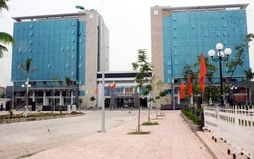 Toàn cảnh tòa nhà liên cơ quan của tỉnh Bắc Giang (ảnh: báo Bắc Giang)