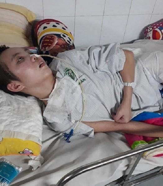 Em Phạm Thị Ngọc Linh, 15 tuổi, (ngụ khối 11, thị trấn Cầu Giát, huyện Quỳnh Lưu, tỉnh Nghệ An). Ảnh: NT
